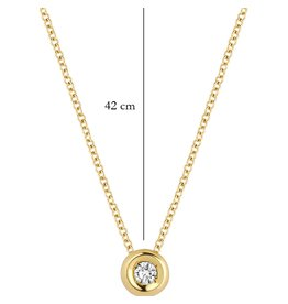 Blush 14 kt Blush Diamonds Collier one   Dia. 0.03 - 3606YDI