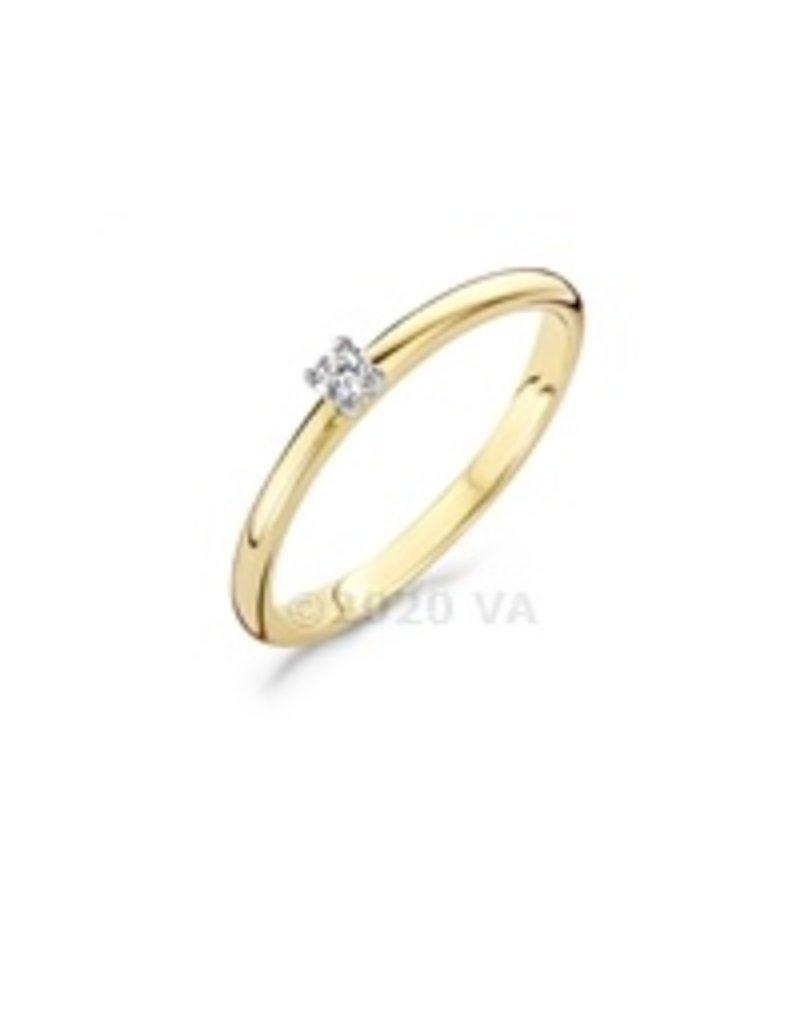 Blush 14 kt Blush Diamonds Ring 54  yellow gold Dia. 0.06 - 1601BDI/54