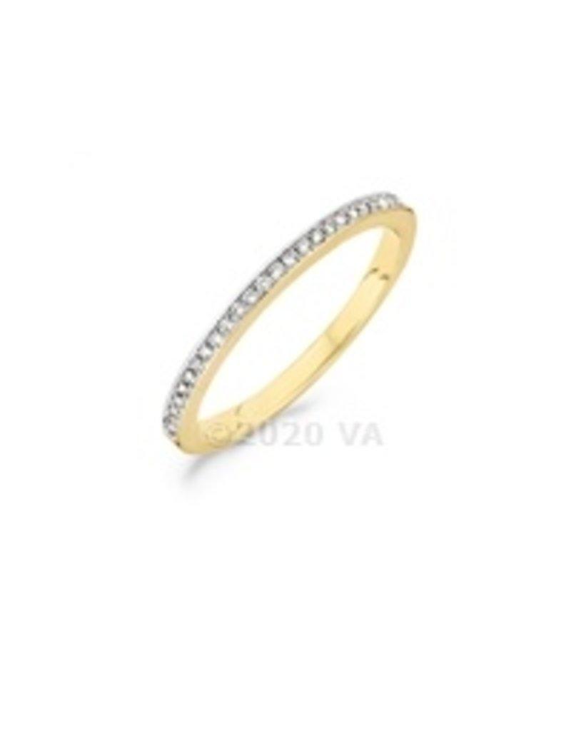 Blush 14 kt Blush Diamonds Ring 54  yellow/white gold Dia. 0.10 - 1607BDI/54