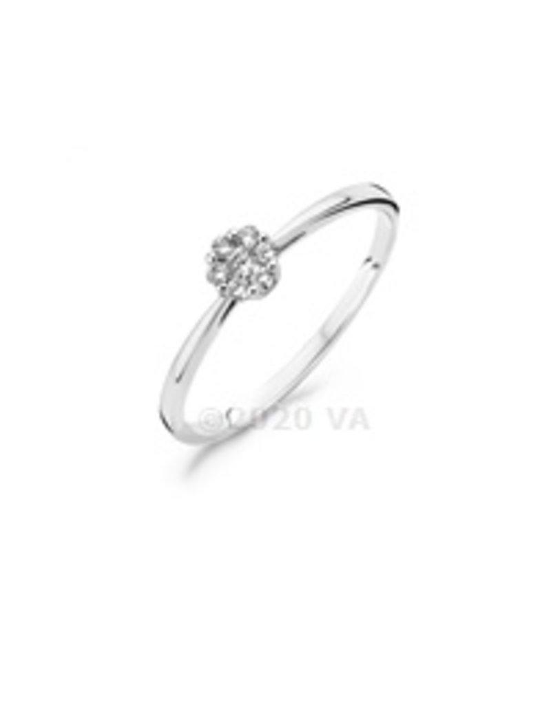 Blush 14 kt Blush Diamonds Ring 54  white gold Dia. 0.11 - 1610WDI/54