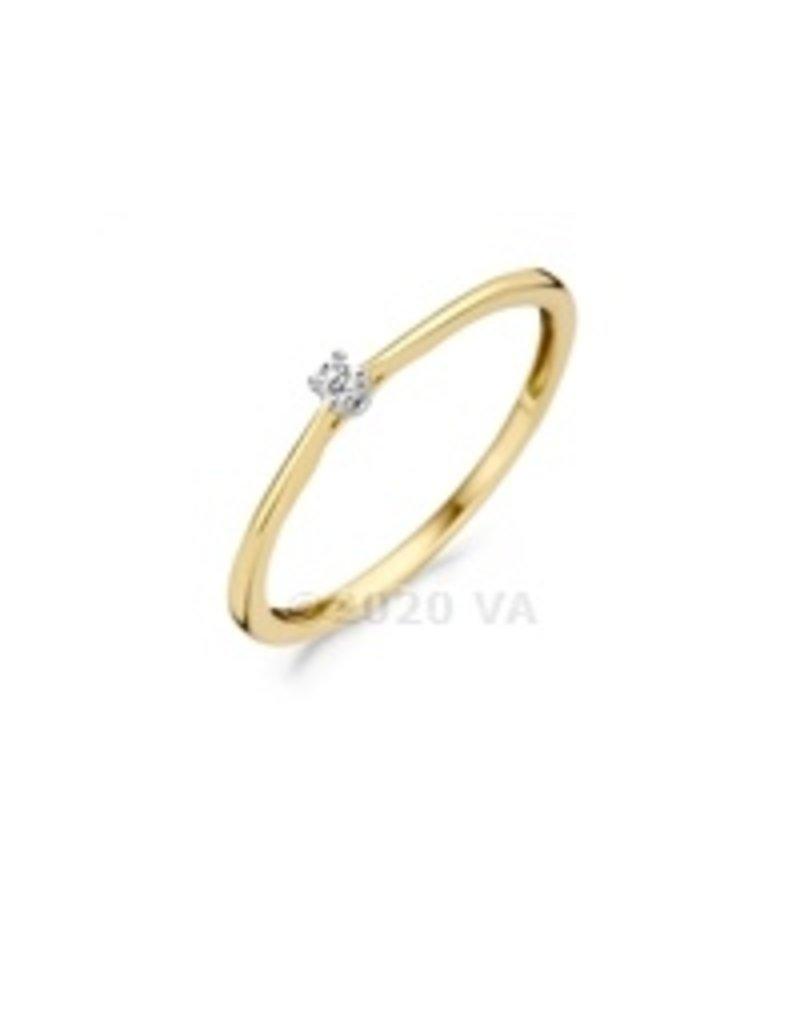 Blush 14 kt Blush Diamonds Ring 54  yellow/white gold Dia. 0.03 - 1620BDI/54