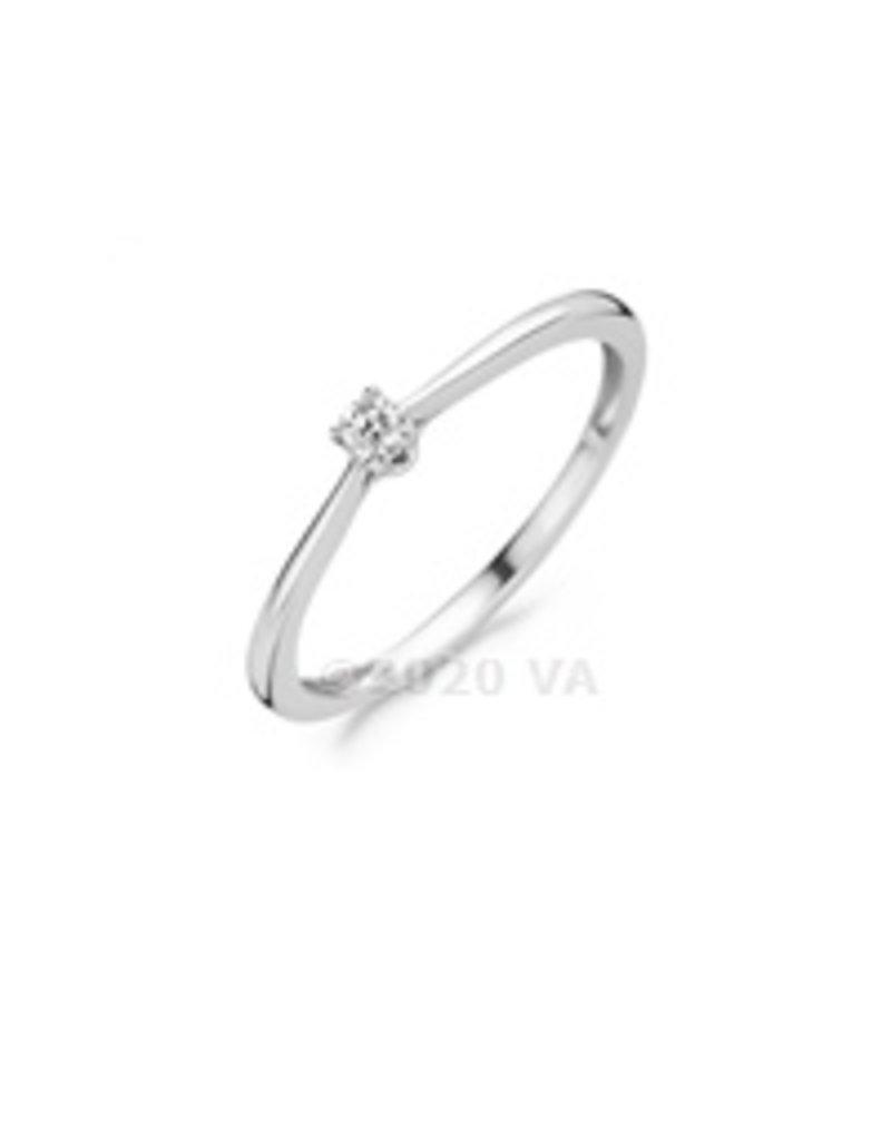 Blush 14 kt Blush Diamonds Ring 54  white gold Dia. 0.06 - 1621WDI/54
