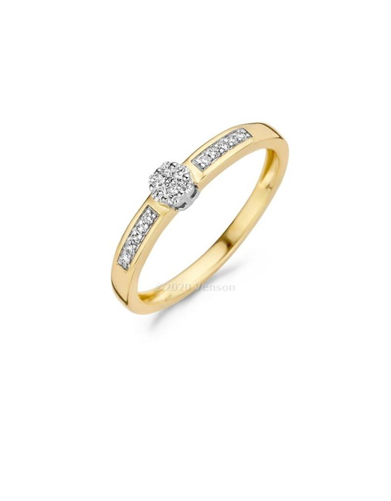 Blush 14 kt Blush Diamonds Ring 54  white gold Dia. 0.12 - 1623BDI/54