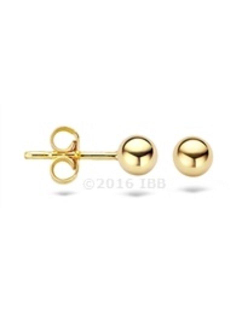 Blush 14 kt Blush Oorbellen one 14K yellow gold  - 7121YGO