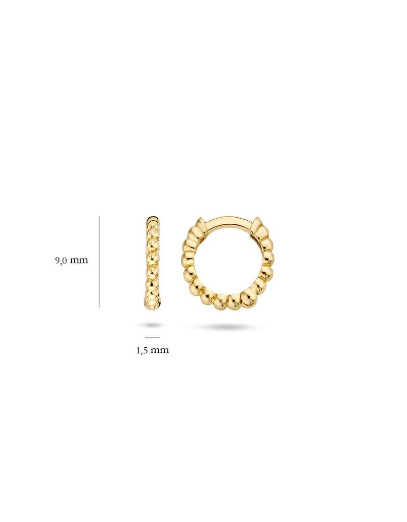 Blush 14 kt Blush Oorknoppen one 14K yellow gold  - 7230YGO