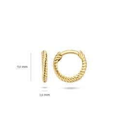 Blush 14 kt Blush Oorknoppen one 14K yellow gold  - 7231YGO