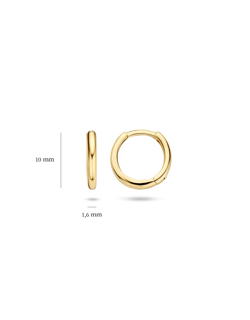 Blush 14 kt Blush Oorknoppen one 14K yellow gold  - 7232YGO