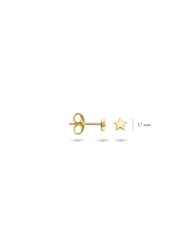 Blush 14 kt Blush Oorknoppen one 14K Yellow gold  - 7247YGO