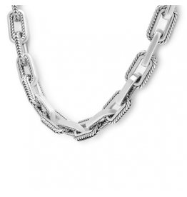Buddha to Buddha 121 45cm - Barbara Link Small Necklace Silver - 121 45cm