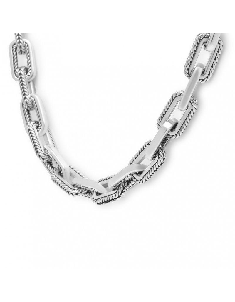 Buddha to Buddha 121 45cm - Barbara Link Small Necklace Silver - 121 45cm