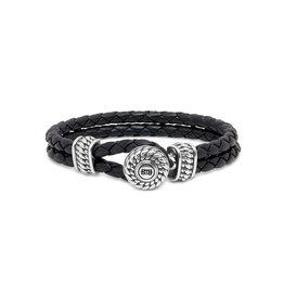 Buddha to Buddha Ben Leather Knot Black - 220BL