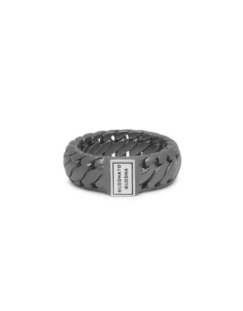 Buddha to Buddha Ben Small Ring Black Rhodium Silver - 542BRS