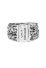 Buddha to Buddha Multi Chain Nathalie Bracelet Silver - 124