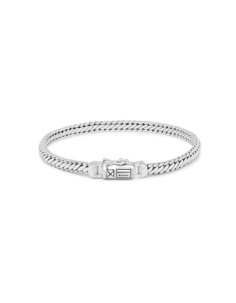 Buddha to Buddha J101 E - Ben Mini Bracelet Silver - J101 E