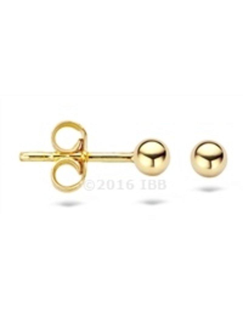 Blush 14 kt Blush Oorbellen one 14K yellow gold  - 7120YGO