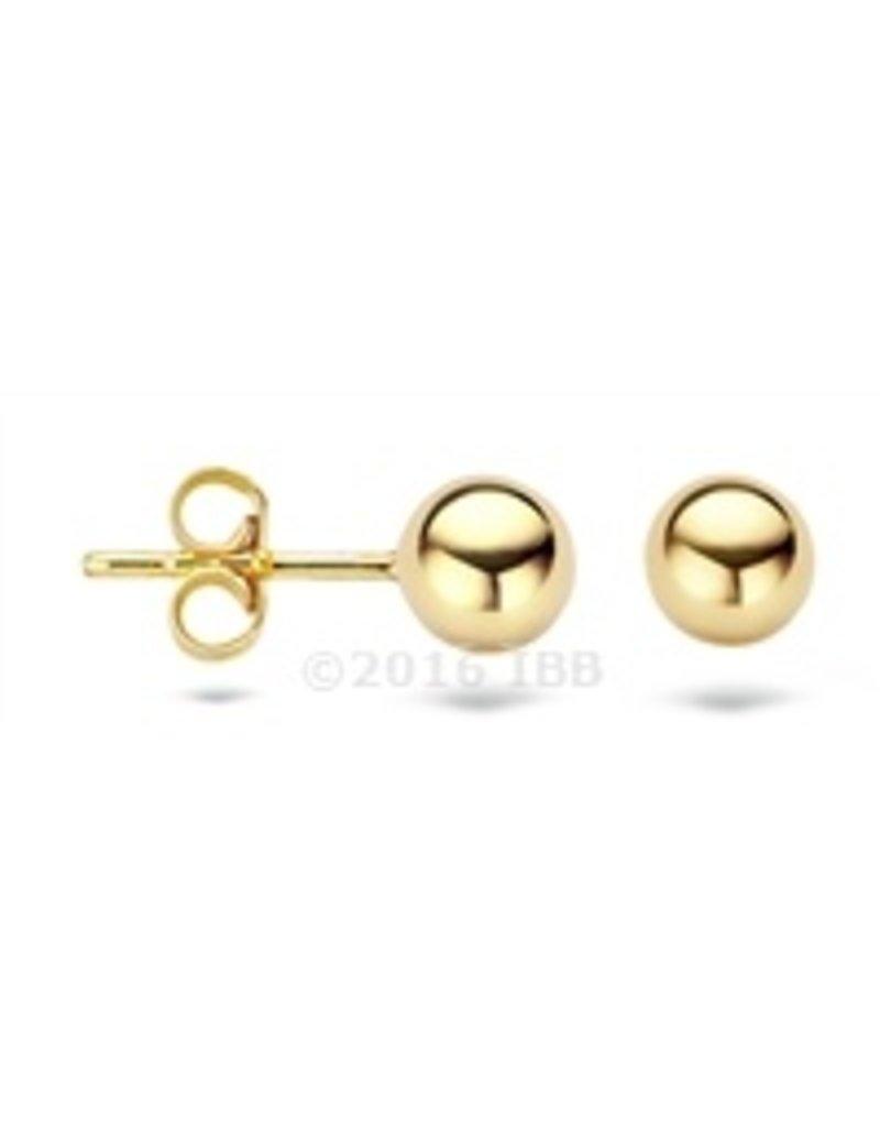 Blush 14 kt Blush Oorbellen one 14K yellow gold  - 7122YGO
