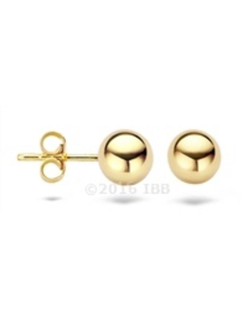Blush 14 kt Blush Oorbellen one 14K yellow gold  - 7123YGO