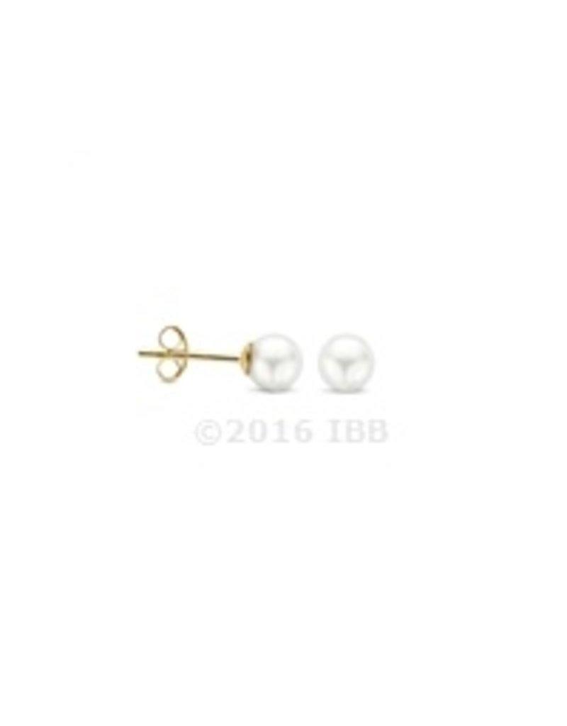 Blush 14 kt Blush Oorbellen one 14K Yellow gold Parel - 7149YPW