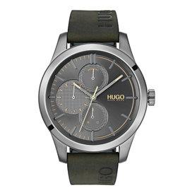 HUGO HUGO Hrn Lr/Groen Discover 46mm - hu1530084