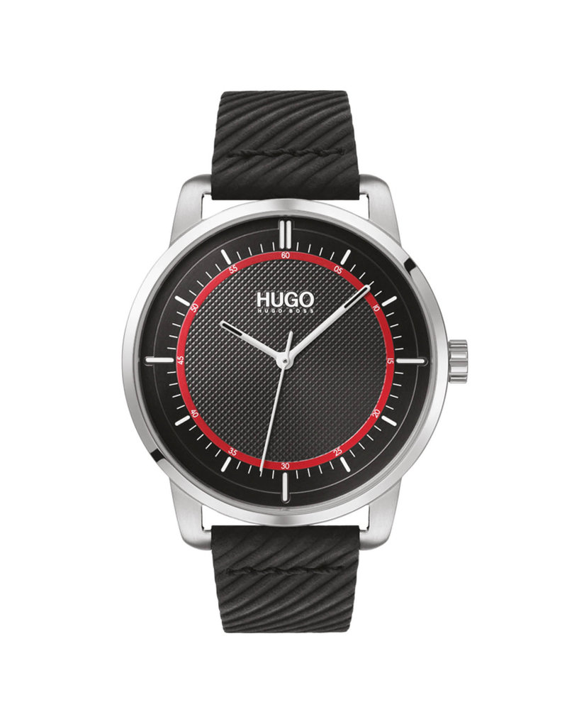 HUGO HU hrn stl lr zwart reveal - hu1530098