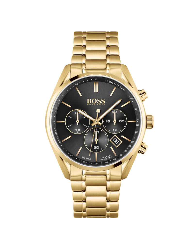 Hugo Boss HB hrn stl gd champion 44mm - hb1513848