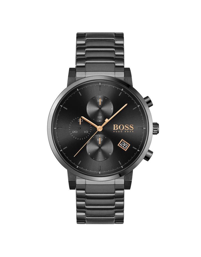 HUGO INTEGRITY Steel zwart - HB1513780