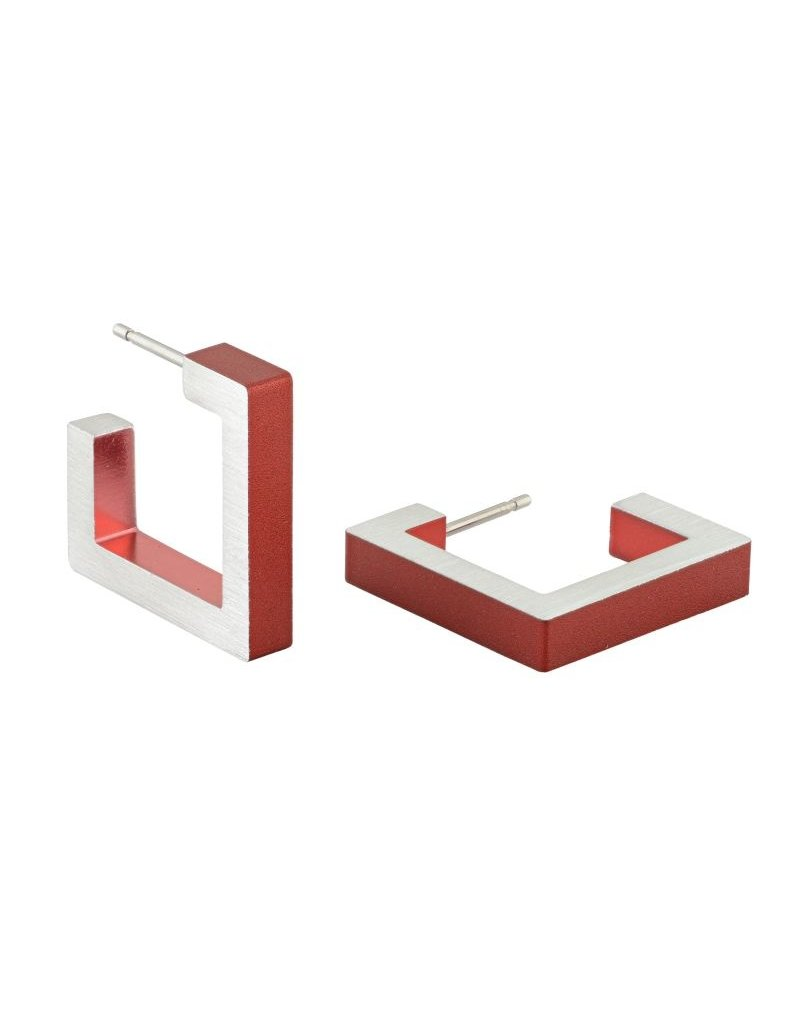 Clic Red Earring - O11R