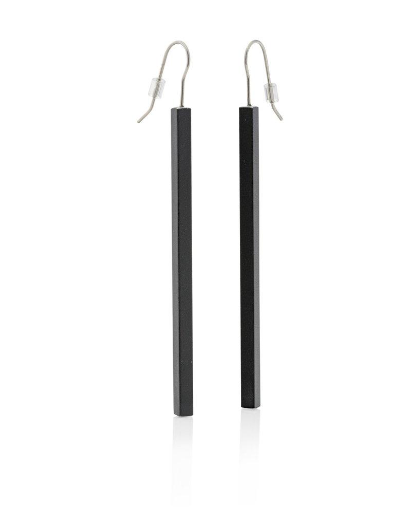 Clic Earring Black - O38Z