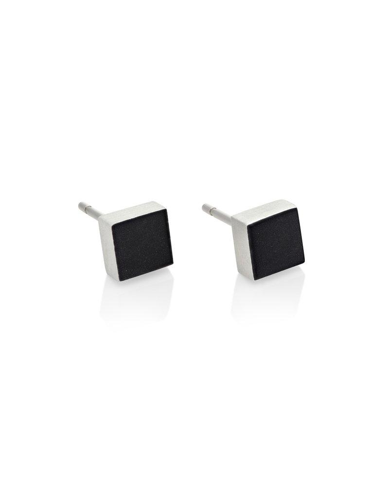 Clic Earring Black - O37Z