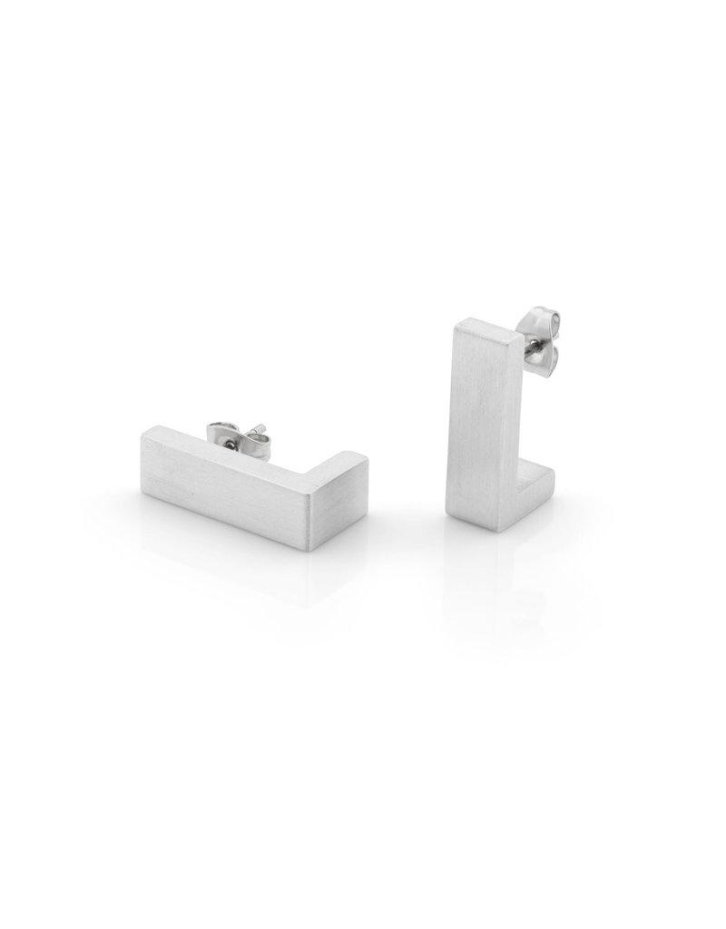 Clic Aluminium Earring  Matte - O27mat