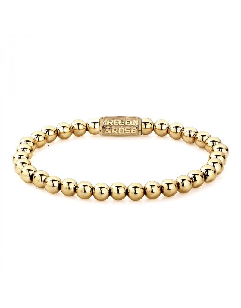 Rebel&Rose Yellow Gold only - 6mm S - RR-60046-G-S
