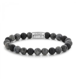 Rebel&Rose Grey Rocks - 8mm L - RR-80069-S-L