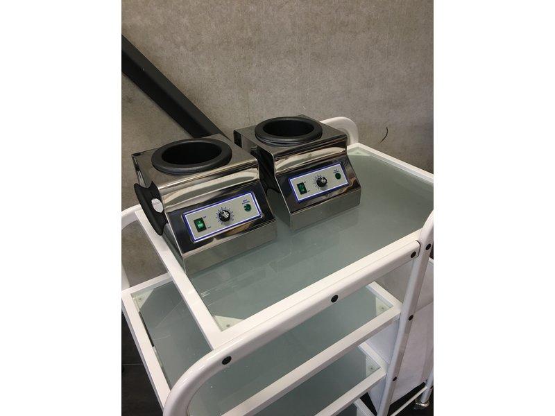 """Professioneel Harsapparaat Security 2000"""" 800ml   - RVS - Harsverwarmer voor blikken"""