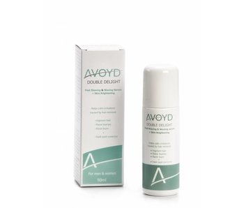 AVOYD DOUBLE DELIGHT Post Shaving & Waxing Serum + Skin Brightening 90 ml