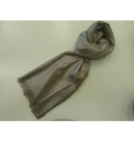 Y&P Foulard Party Glitter Taupe