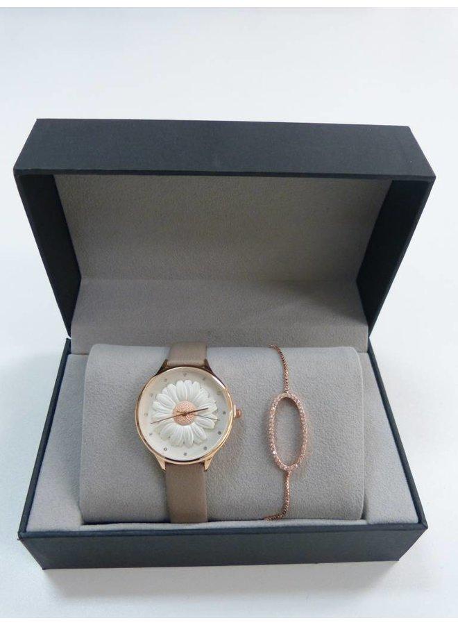 Box horloge + armband