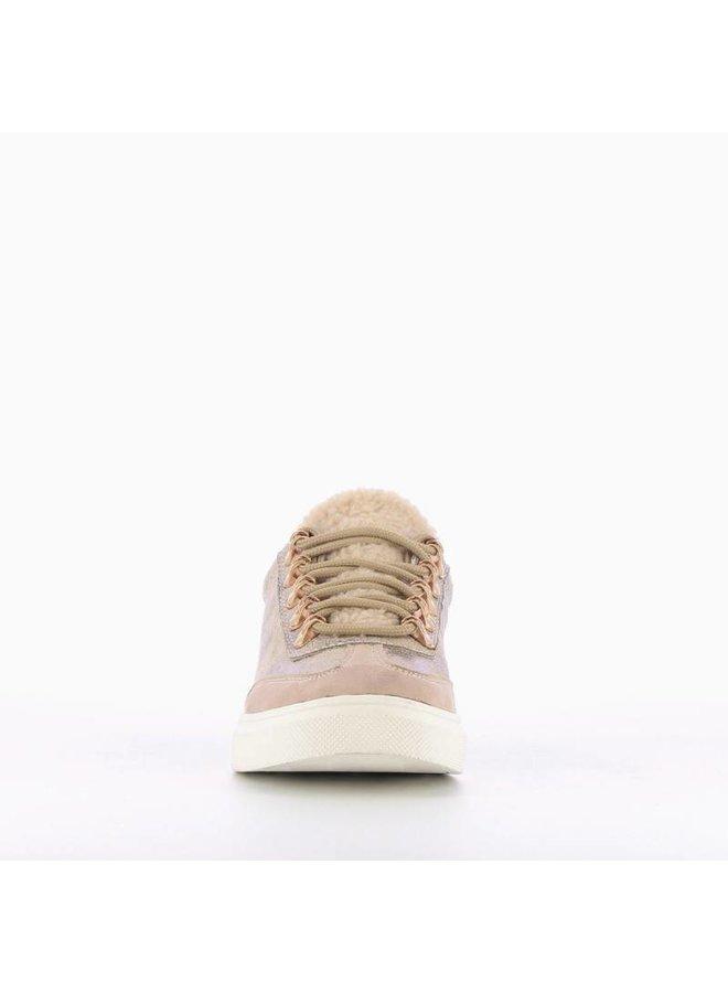 Sneaker Peluche Beige