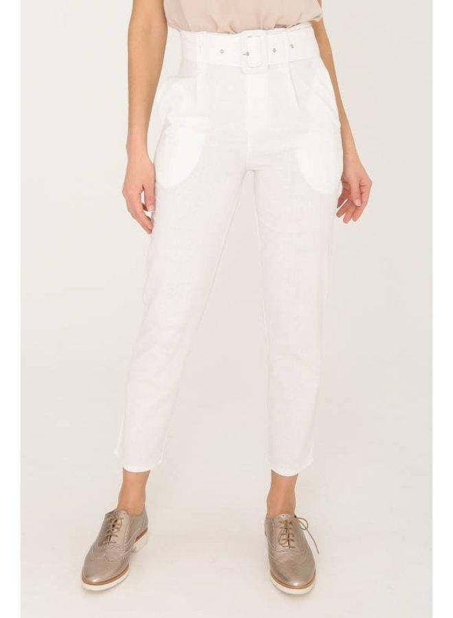 Pantalon d'été en lin