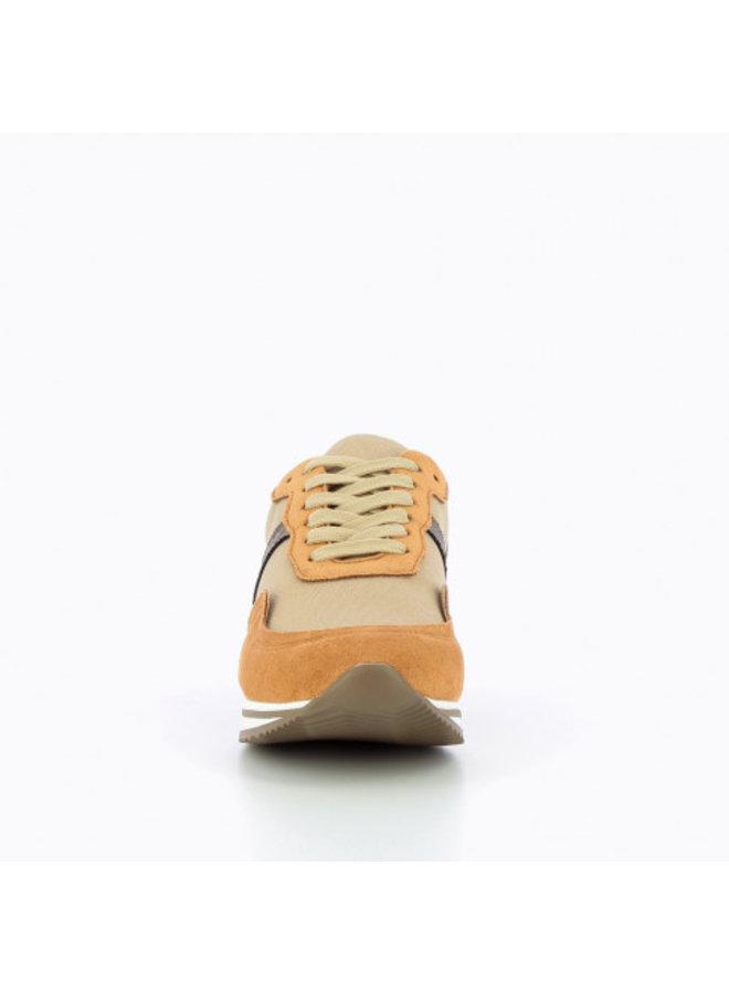 Camel Striped Sole Sneaker