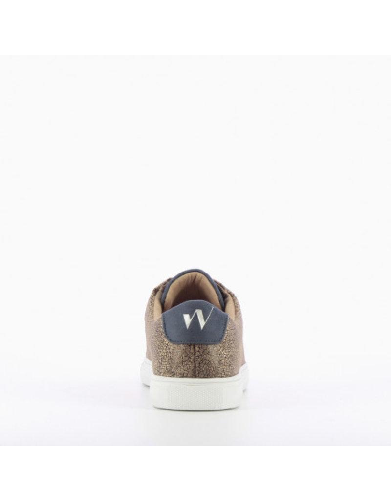 Vanessa Wu Crackled Printed Sneakers