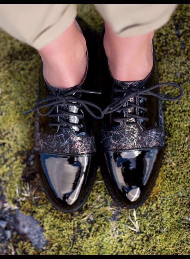 Zwarte Lak Schoen