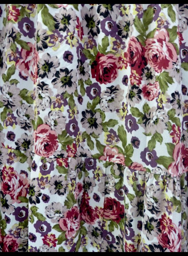 Jupe longue à imprimé floral