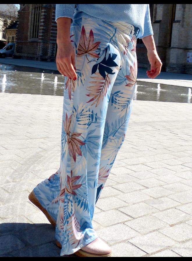 Pantalon d'été large avec imprimé
