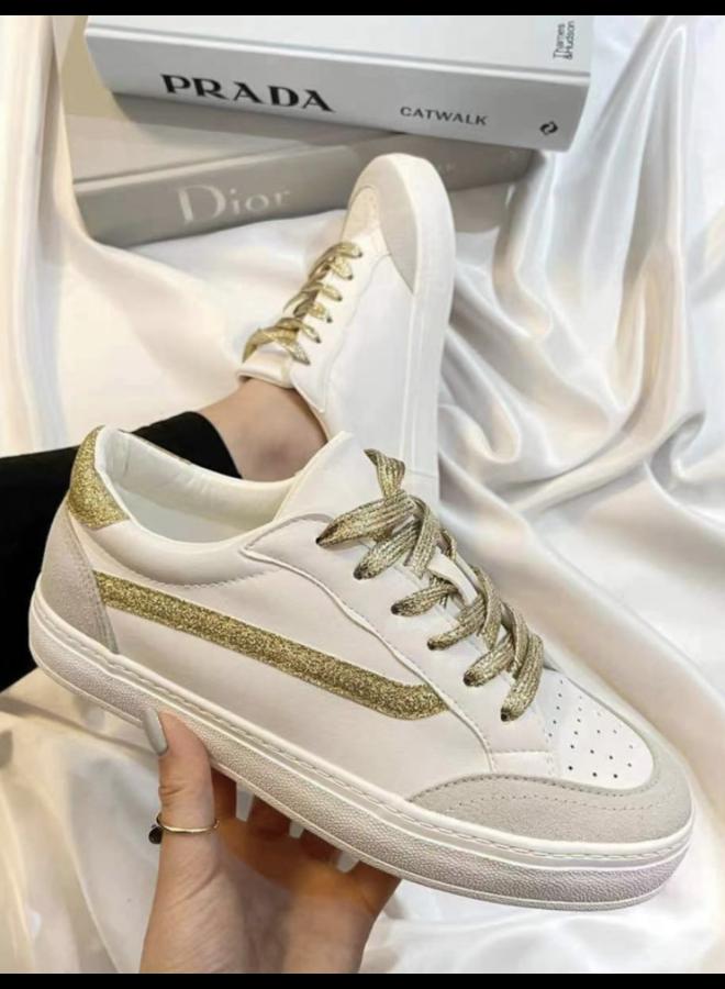 Sneaker Gold Glamour