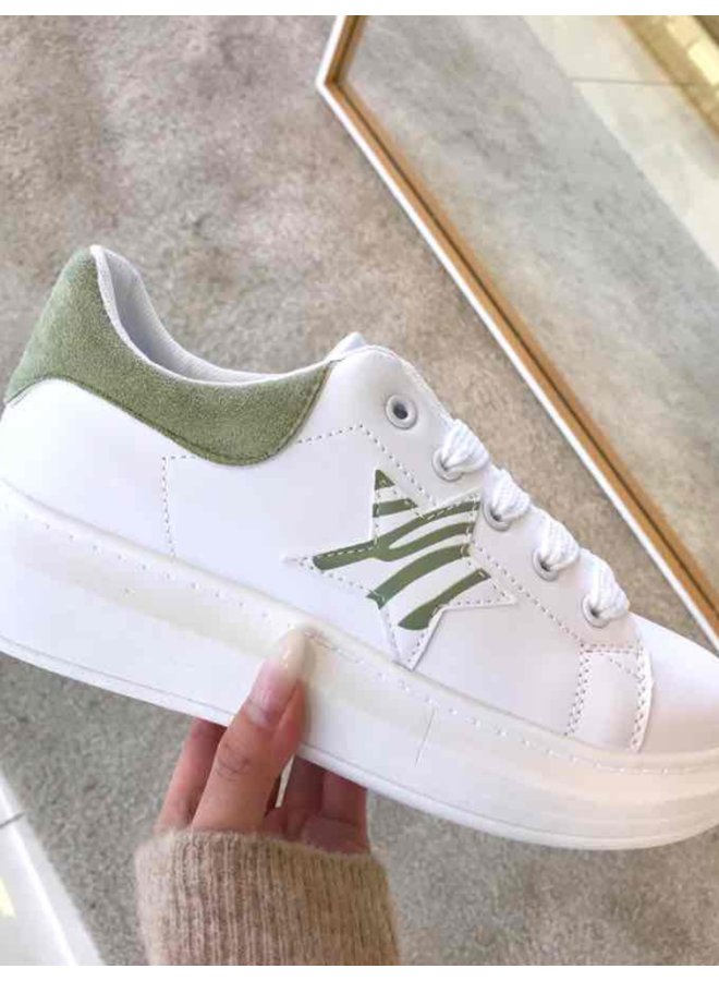 Basket Green Star