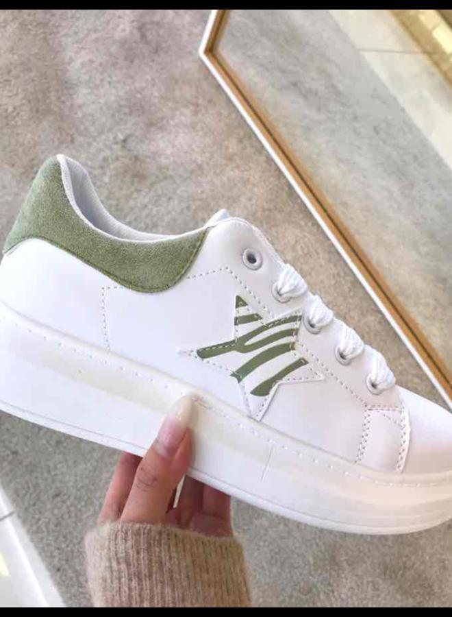 Sneaker Green Star