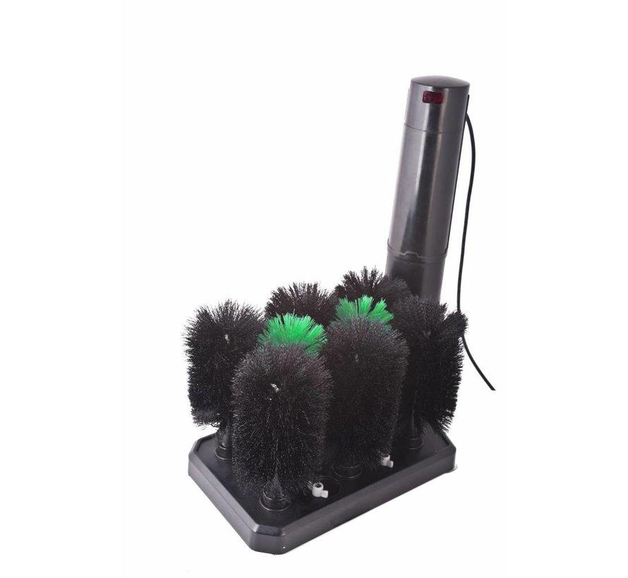 Glass rinsing machine HH-8 (8 brushes)