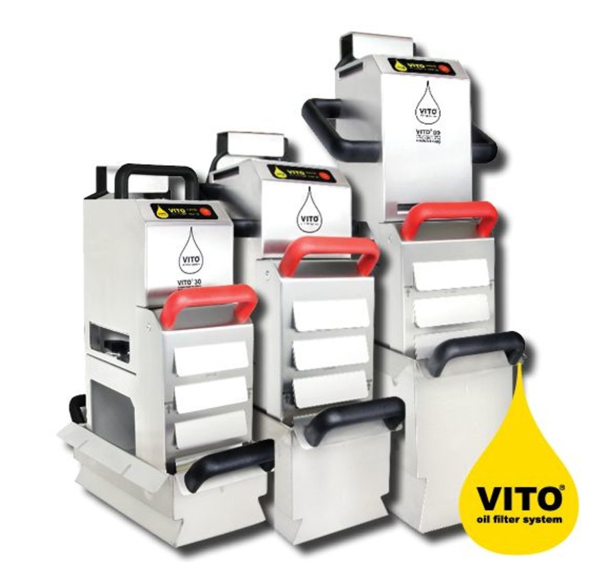 Vito Frying oil filter system V-30
