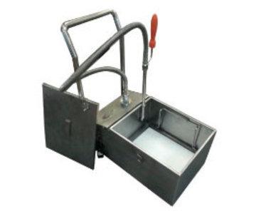Oilhandy verrijdbaar frituurolie-filtratie-systeem