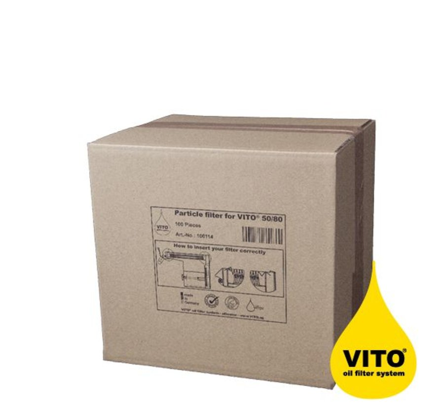 Grease filters Vito filtration-system 50 pieces